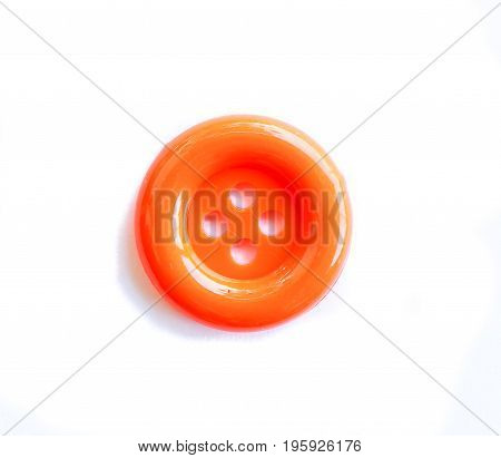 Close up button colors on a white background