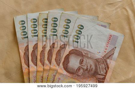 Thai Bath Banknotes