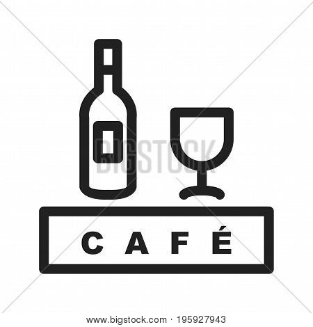 Coffee, cafe, drink icon vector image. Can also be used for Cafe and Bar. Suitable for use on web apps, mobile apps and print media.