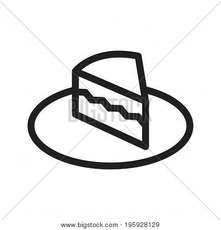 Cream, cake, cafe icon vector image. Can also be used for Cafe and Bar. Suitable for web apps, mobile apps and print media.