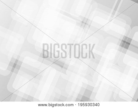 Vector Abstract geometric background, greyscale, Hexagon shape design.