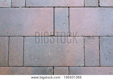 Simple ground brick stone tiles background texture
