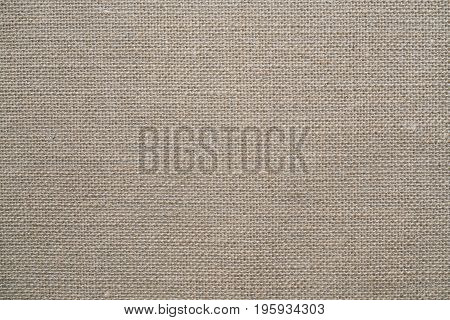 Natural sackcloth textured for background close up