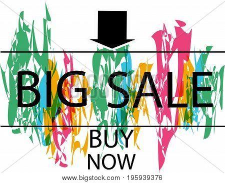 Super sale banner. Sale and discounts. Vector illustration. Sale banner template design
