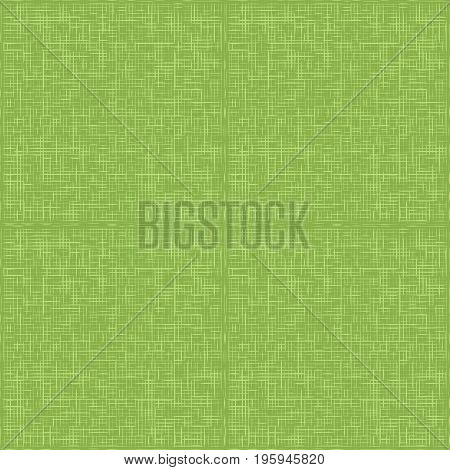 Green sack fabric textile, seamless pattern illustration.