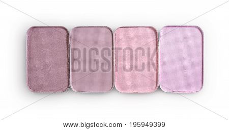 Colored Eyeshadow For Make Up As Sample Of Cosmetic Product