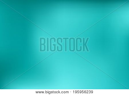 Blue turquoise blurred abstract background design graphic vector illustration