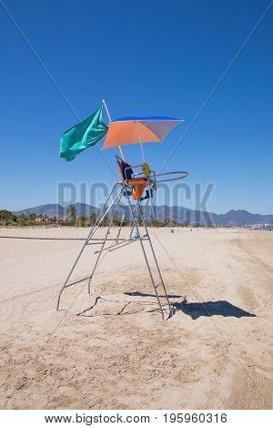 Lifeguard Chair In Pine Beach