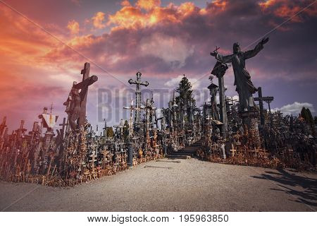 Mountain Of Crosses