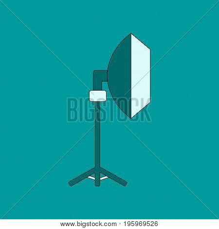 flat icon on stylish background professional lighting