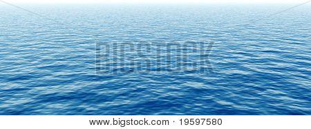 High resolution blue water banner