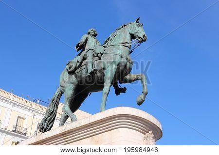 King Carlos Iii