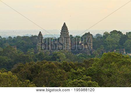 Beautiful sunrise at Ankor Wat, Siem Reap, Cambodia