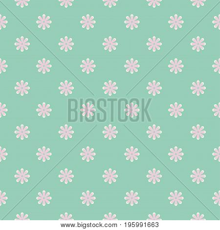 Shabby chic rose pattern. Scrap booking floral seamless background.
