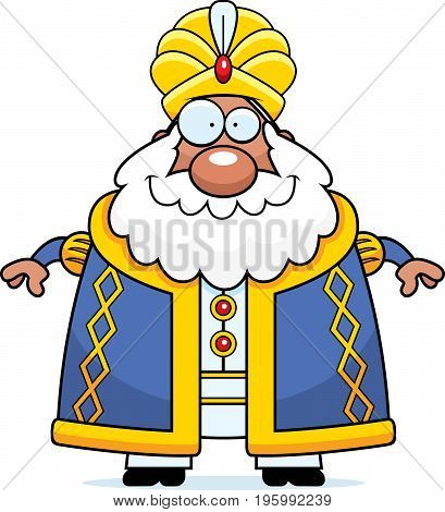 Happy Cartoon Sultan
