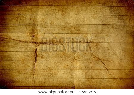 Conceptual grungy old wood background horizontal brown