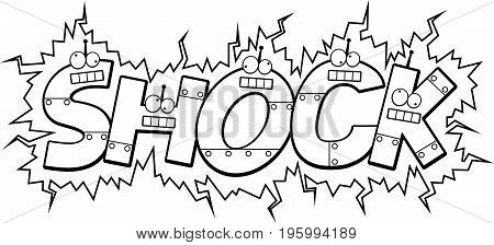 Cartoon Shock Text