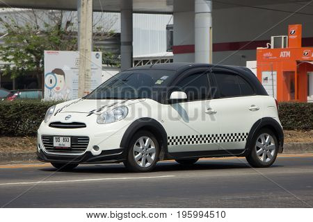 Private Eco Car Nissan March.