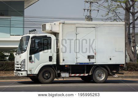 Cold Container Truck For Ice Transportation
