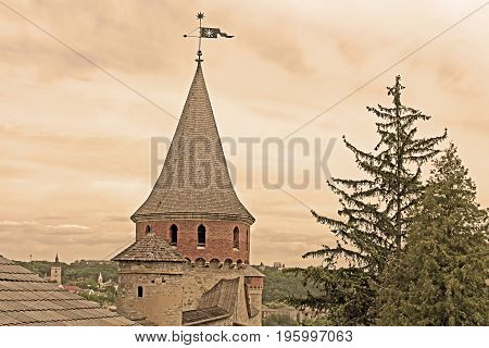 Kamianets-Podilskyi Castle is a former Ruthenian-Lithuanian castle and a later three-part Polish fortress located in the historic city of Kamianets-Podilskyi, Ukraine. Filter applied