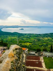 Hdr View Of The City Of Montefiascone