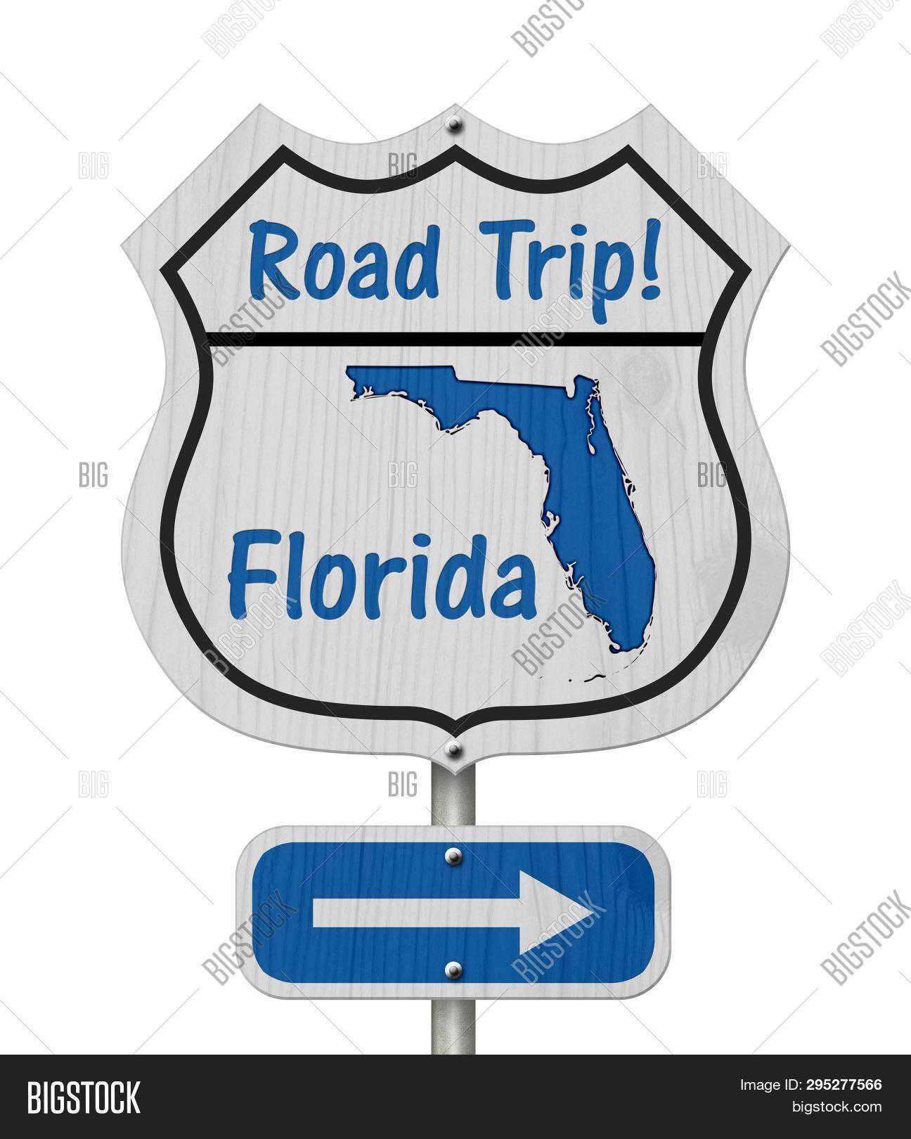 Free Florida Road Map.Florida Road Trip Image Photo Free Trial Bigstock