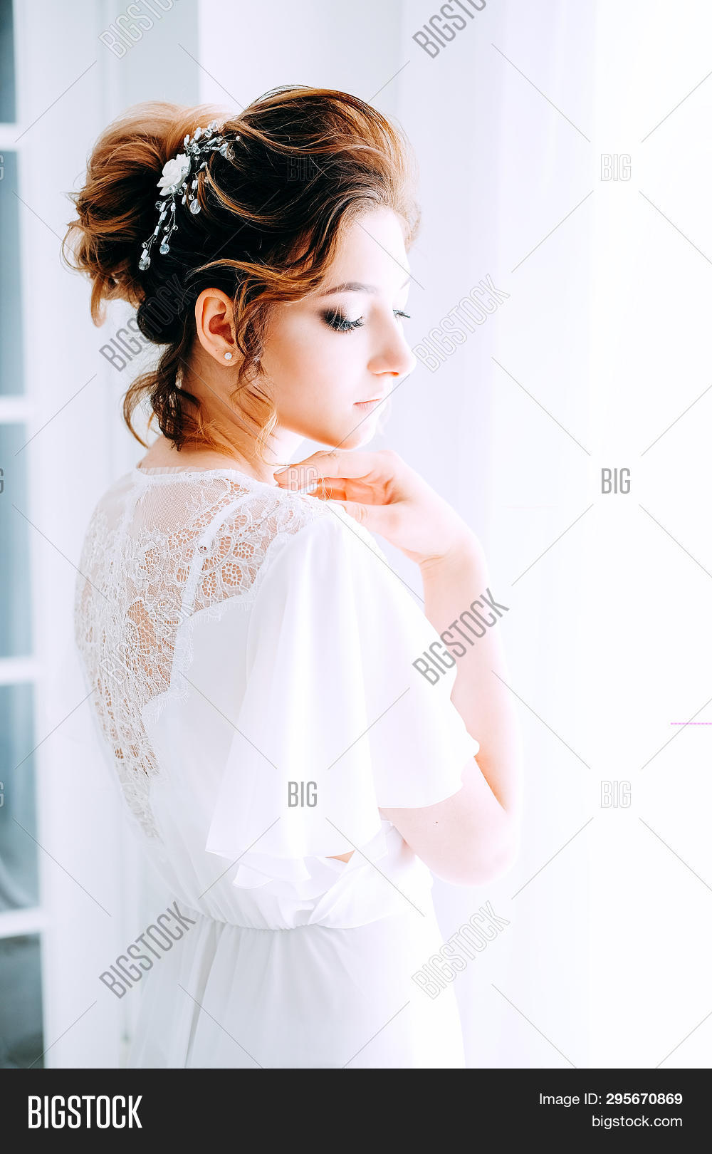 83298e58f2d Tender Elegant Young Image   Photo (Free Trial)
