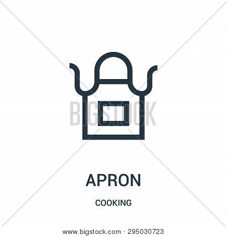 Apron Icon Isolated On White Background From Cooking Collection. Apron Icon Trendy And Modern Apron