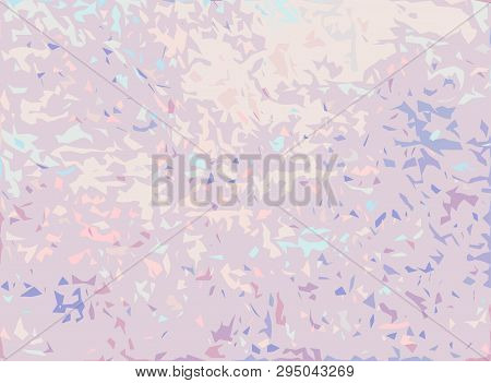 Creative Abstract Grunge Background. Pastel Colors. Random Small Shattered Fragments. Spotty, Patchy