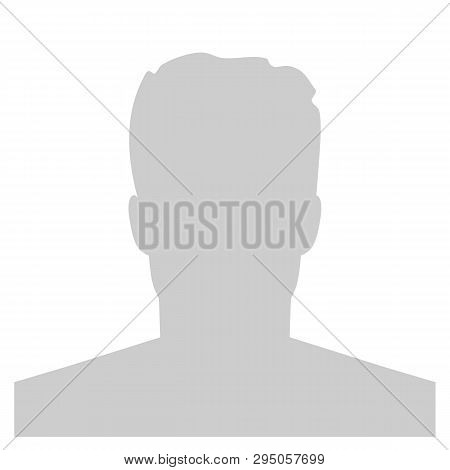 Creative Vector Illustration Of Default Avatar Profile Placeholder Isolated On Background. Art Desig