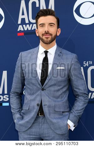 LAS VEGAS - APR 7:  Jeremy Parsons at the 54th Academy of Country Music Awards at the MGM Grand Garden Arena on April 7, 2019 in Las Vegas, NV