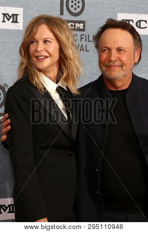 LOS ANGELES - APR 11:  Meg Ryan, Billy Crystal at the 30th Anniversary Screening Of