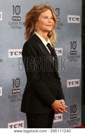 LOS ANGELES - APR 11:  Meg Ryan at the 2019 TCM Classic Film Festival Gala - 30th Anniversary Screening Of