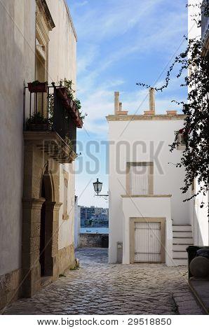 White Houses In Otranto