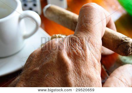 Smoke and espresso