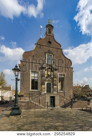 Oude Stadhuis, Old City Hall Of The City Of Schiedam, Town Hall, Monument, The Netherlands