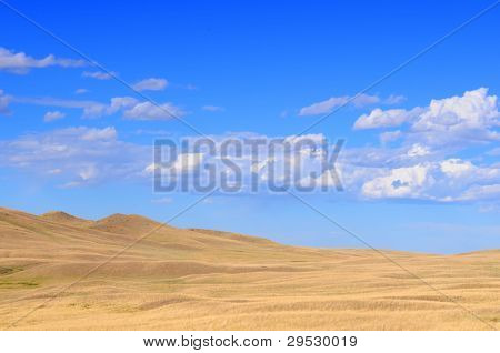 Empty Montana landscape