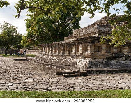 October 06, 2008, Veracruz, Mexico - Pre Hispanic Pyramid Is Seen At The Archeological Area Of El Ta