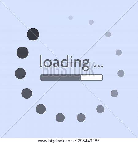 Round Progress Bar Oder Progress Indicator On Website Or Mobile App