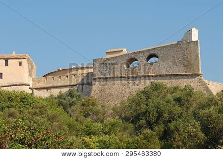 Fort Carre In Antibes, France Is A Beautiful Example Of Historic Architecture In The Form Of A 16th