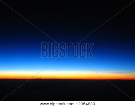Pre Dawn Hour Over the Pacific Ocean