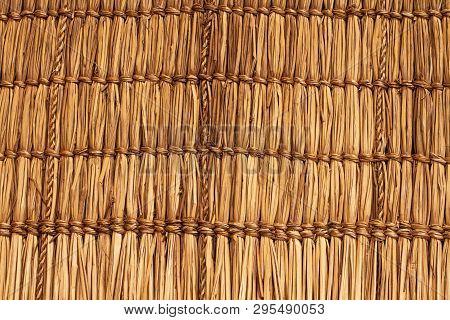 Wickerwork Texture Background