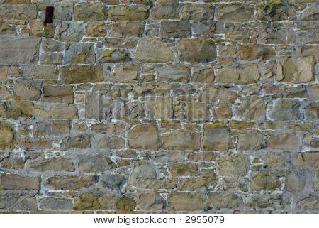 Multi Colored Brick Wall