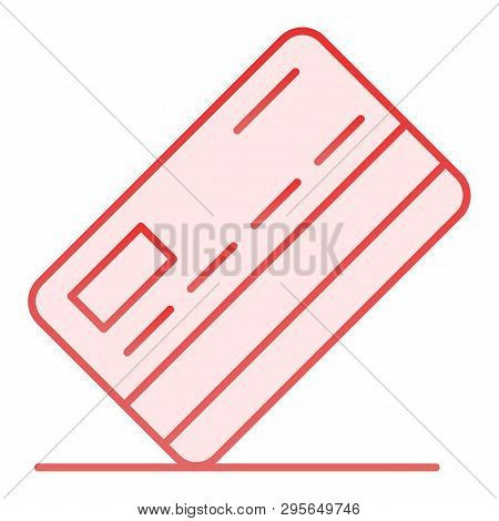 Credit Card Flat Icon. Payment Pink Icons In Trendy Flat Style. Pay Gradient Style Design, Designed