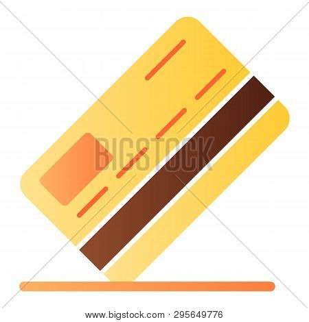 Credit Card Flat Icon. Payment Color Icons In Trendy Flat Style. Pay Gradient Style Design, Designed