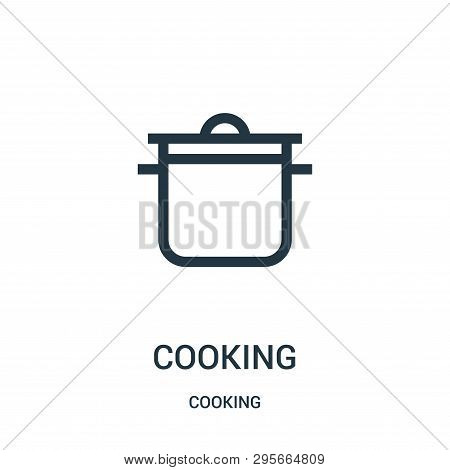 Cooking Icon Isolated On White Background From Cooking Collection. Cooking Icon Trendy And Modern Co
