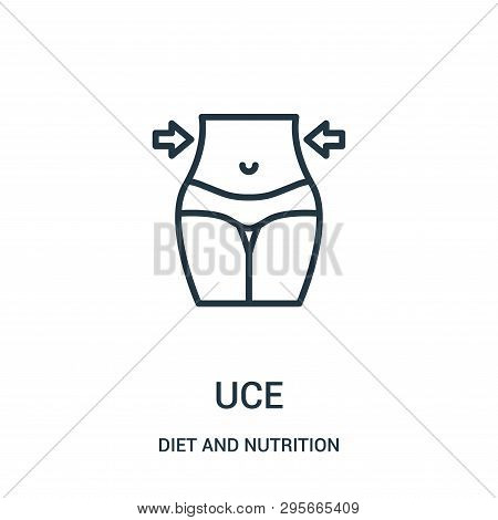 Reduce Icon Isolated On White Background From Diet And Nutrition Collection. Reduce Icon Trendy And