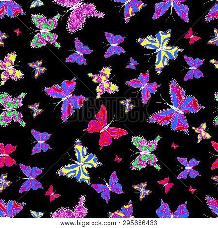 Children Butterfly Vector Photo Free Trial Bigstock