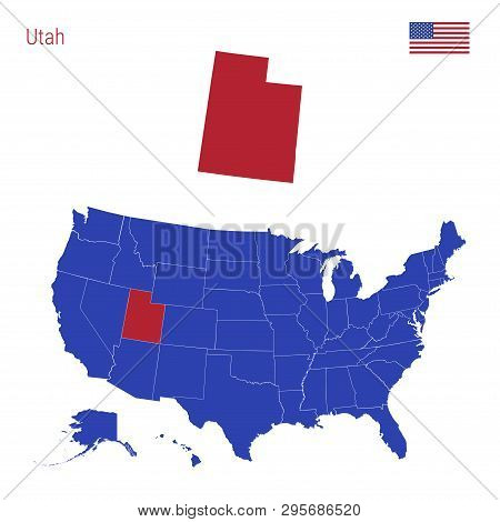 State Utah Vector & Photo (Free Trial) | Bigstock