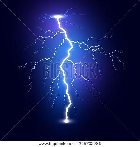 Lightning Flash Bolt Vector & Photo (Free Trial) | Bigstock